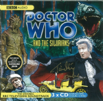 Doctor Who, The Silurians signed by Timothy Combe (CD COVER ONLY) 1346